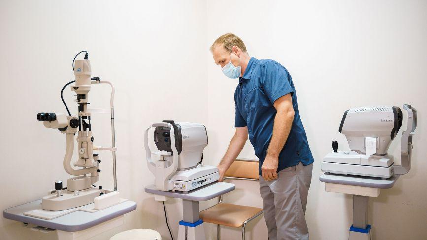 У першій лікарні оновили обладнання для перевірки стану зору