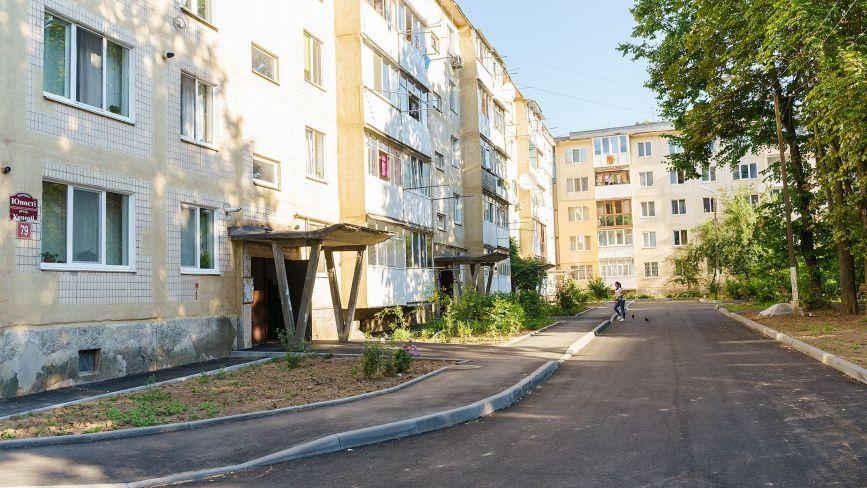 У Вінниці цьогоріч відремонтували десять дворів у різних районах міста
