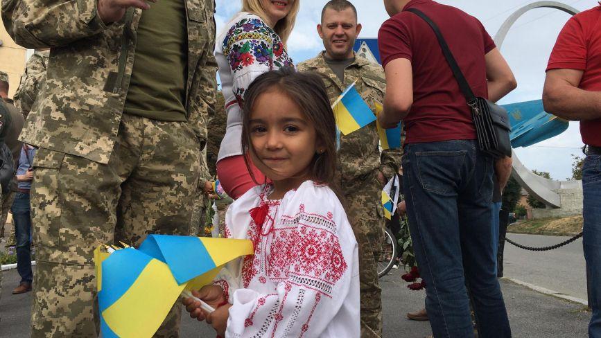 ФОТО ДНЯ. У Вінниці пройшов парад до Дня Незалежності України (ОНОВЛЕНО)