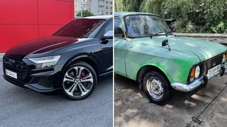Від $500 до $141 000! ТОП найдорожчих і найдешевших авто, що продають у Вінниці