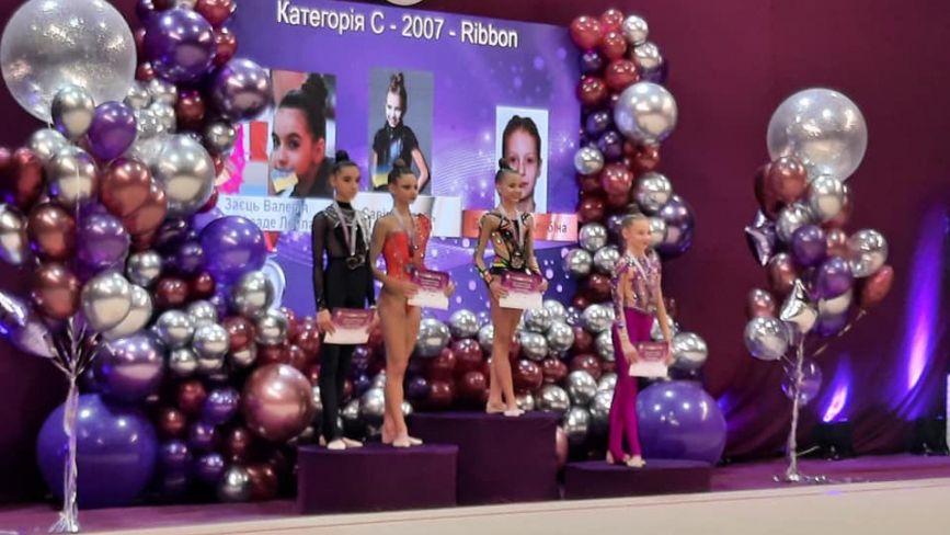 Вінницька гімнастка Лейла Юсіфзаде виборола «срібло» на турнірі Олімпійські надії
