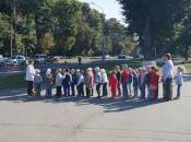 Відео дня: «Курчат» з 24 садочку водили в парк