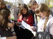 Як випускники чекають першого тестування ЗНО (репортаж онлайн)