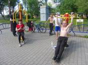 Воркаут-реалити: отпраздновали 9 мая на турниках