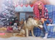 До Вінниці «на Новий рік» завітала співачка Лілія Кіш - фотографуватися до Констянтина Ревуцького