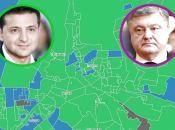 Як проголосували за президента в різних мікрорайонах Вінниці (КАРТА)