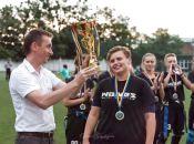 «Вінницькі вовчиці» «загризли» «Конячок» і «Бульдожок»: знову виграли чемпіонат України з флаг-футболу