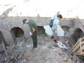 Залишки підземель у центрі Вінниці: що знайшли під аварійною будівлею