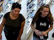 Шукають, двох молодих дівчат, яких підозрюють у крадіжці з магазину