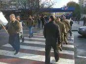 «Влада нас ігнорує і не дає землю!» Калинівські АТОвці перекривали дороги у Вінниці (ОНОВЛЕНО)