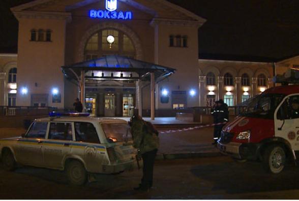 """Вчора """"замінували """" залізничний вокзал у Вінниці"""