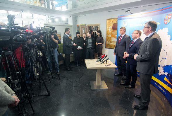 """Нове керівництво ПриватБанку: ми підтримуємо проекти, що сприяють економічному зростанню Вінничини (Прес-служба ПАТ КБ """"ПриватБанку"""")"""