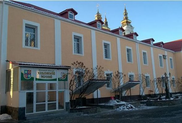 Більше 200 тисяч гривень пішло на реконструкцію обласного художнього музею