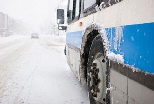Вінницькі автовокзали працюють, автобуси курсують. Погода цього дня їм не на заваді
