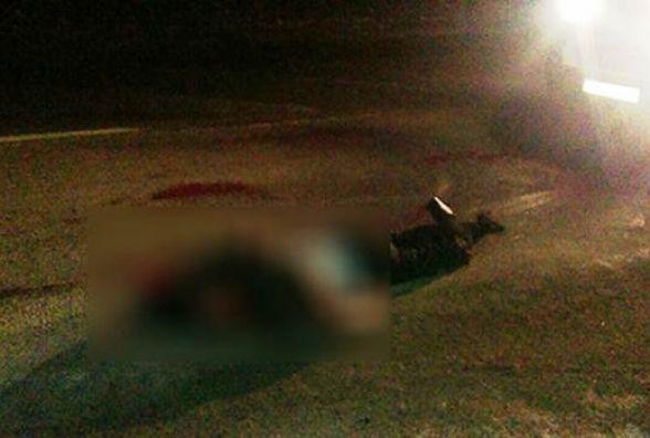 Водій «Mercedes Sprinter» збив насмерть пішохода та брехав, що це не він (ФОТО)