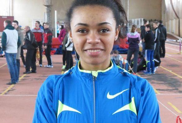 Вінницька легкоатлетка Джойс Коба на Всеукраїнських «Різдвяних стартах» у Києві поступилася лише фіналістці Олімпіади