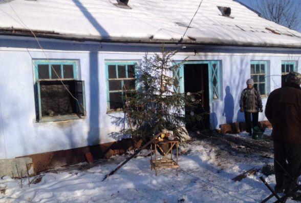 На Вінниччині чоловік ледь не згорів у власній хаті. Виною тому цигарка