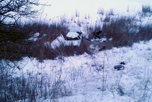 У Жмеринському районі перекинулася «Волга». Постраждало п'ятеро людей
