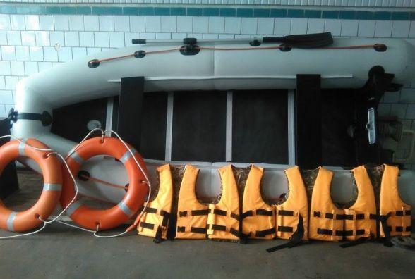 Як тиврівські рятувальник нове обладнання отримали. ВІДЕО
