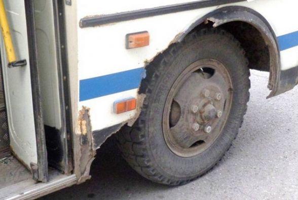 У Жмеринці у автопригоду потрапив автобус. Пасажири не постраждали