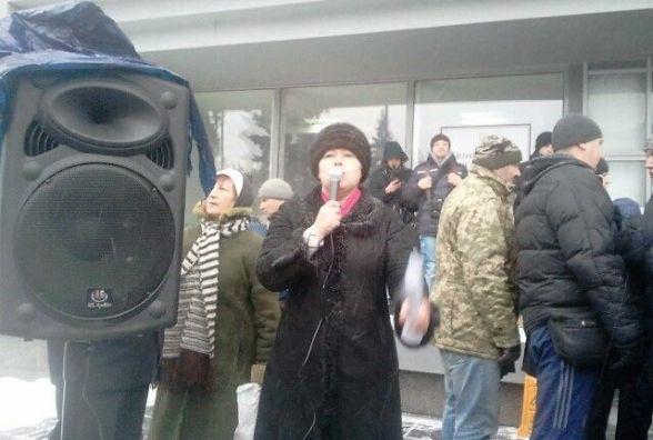 Мітинг під міськрадою: «Хочемо примусити Моргунова звітувати про рік своєї роботи»
