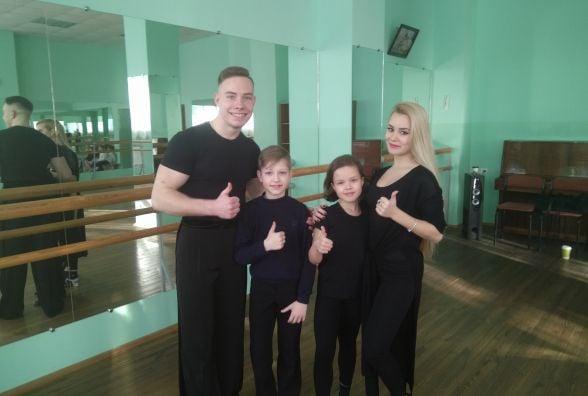 Для юних вінничан чемпіони світу провели майстер-клас з бальних танців