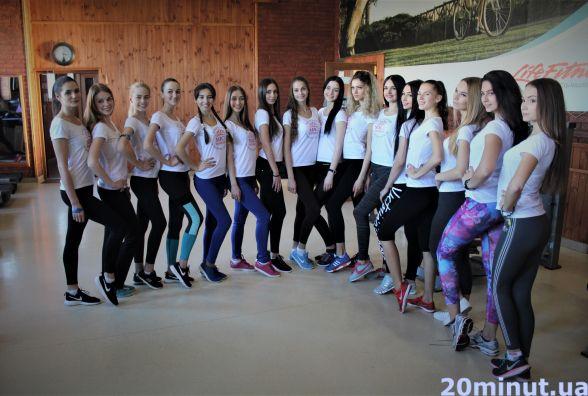 Перше тренування учасниць «Міс Вінниця-2017»: показуємо у гіфках