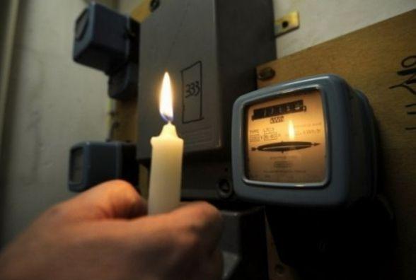 Де у вівторок, 31 січня, вінничани сидітимуть без світла весь день
