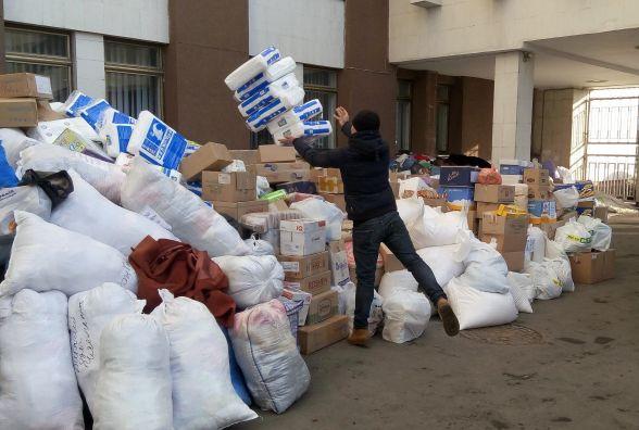 Для мешканців Авдіївки зібрали гуманітарну допомогу з усіх районів області (ВІДЕО)
