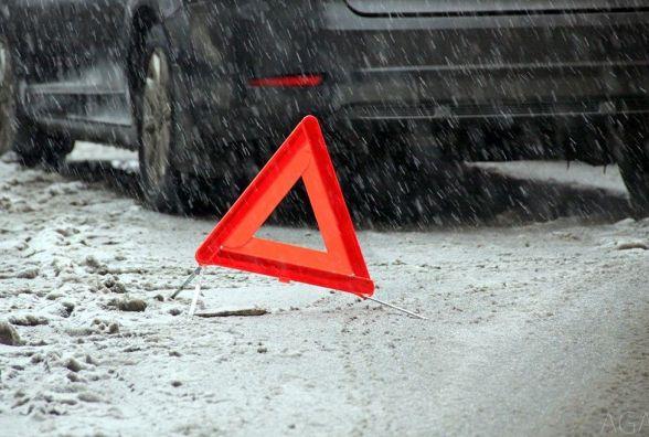 """ДТП на Немировському шосе:  """"Chevrolet Aveo""""  збила 40-річну жінку"""