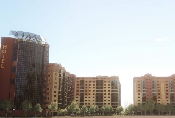 Турецька фірма побудує у Вінниці готель. На 12 панорамному поверсі – вид на центр (ФОТО ВІДЕО)