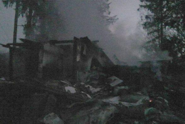 В Оратівському районі згорів сільський магазин. ФОТО