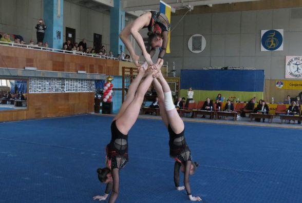 «Зірки над Бугом» засяяли після трирічної перерви. Вінницькі акробати здобули три золота і п'ять срібних медалей