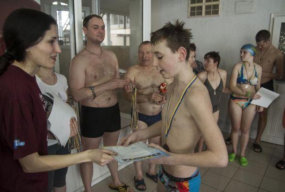У Вінниці вперше пройшли змагання з плавання за програмою Спеціальної Олімпіади України