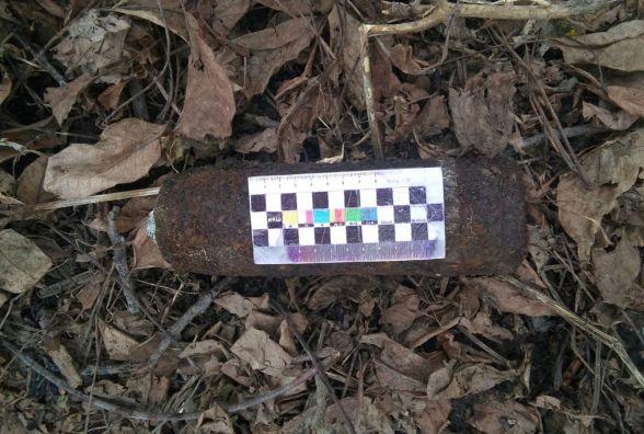 На городі у Тульчинському районі знайшли артилерійський снаряд
