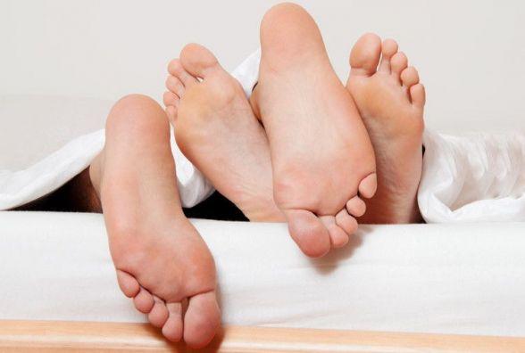 Не выращивайте грибы на ногах