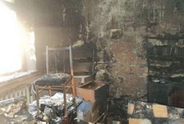 У Тростянці згорів офіс товариства «Боровик». Кажуть не підпал, а проводка