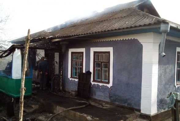 У селі Пилипи під час пожежі загинула 79-річна жінка. ФОТО