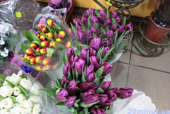 Найдорожчі тюльпани - на Тяжилові. А де найдешевші?(КАРТА)