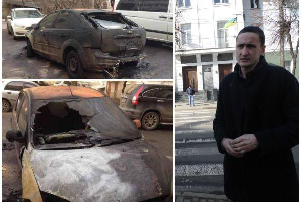 Палала машина депутата, а поліція все не їхала. Чому? Вже є пояснення