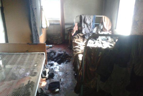 Смертельна пожежа в Самгородку: через сигарету згорів чоловік (ФОТО)