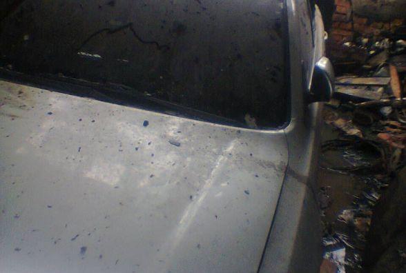 Дві пожежні машини гасили в Луці-Мелешківській гараж з «Toyota Аvensis» (ФОТО)