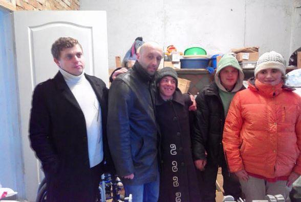 Вінницькі волонтери з подарунками завітали до психоневрологічного інтернату