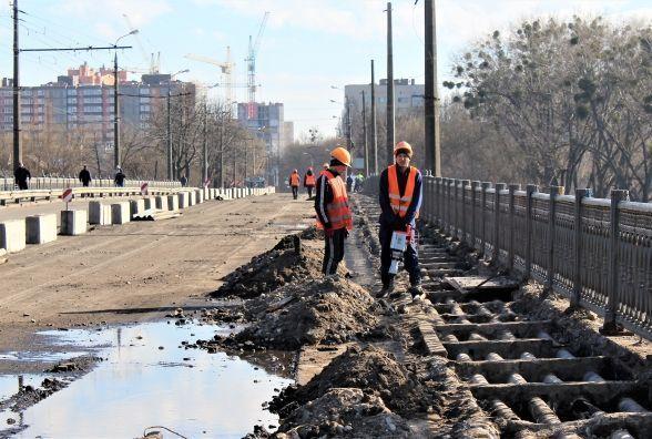 За ремонт Київського мосту заплатили вже 6,5 мільйонів гривень