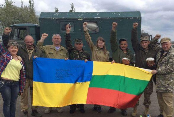 Волонтери з Вінниці їдуть у Вільнюс на розмову з Далією Грібаускайте