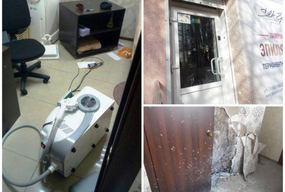 Клієнт побив техніку в косметології на Пирогова, де раніше зірвалась граната