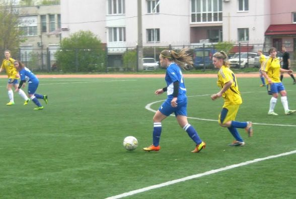 В матчі жіночих команд першої ліги перемогла ДЮСШ Блохіна-Бєланова