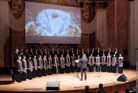 Для ліквідаторів аварії на Чорнобильській АЕС заспівав камерний хор «Вінниця»
