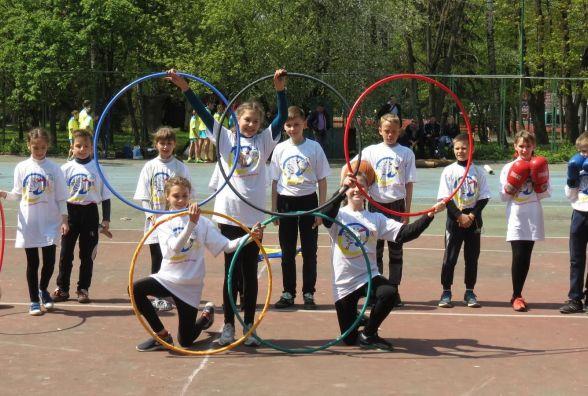 «Олімпійське лелеченя» у Вінниці провели за гарної сонячної погоди