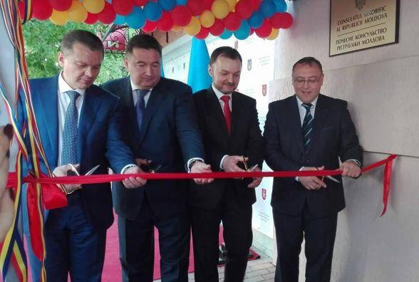 На відкритті консульства у Вінниці посол Молдови виступав українською мовою
